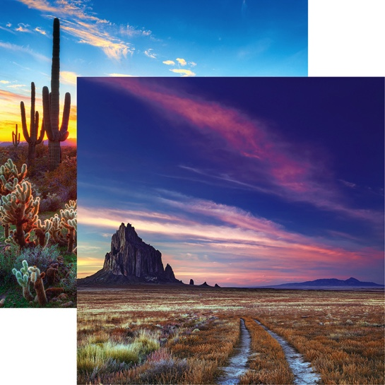 Shiprock 12x12 Double Sided Scrapbooking Paper