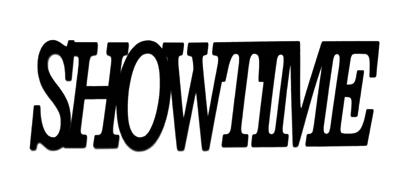 Showtime Scrapbooking Laser Cut Title