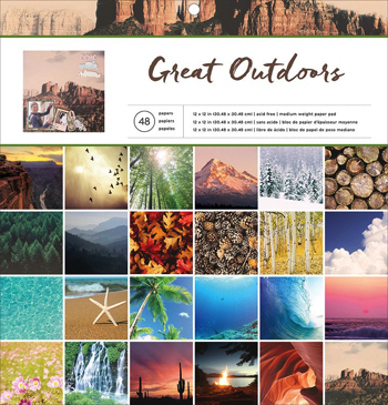 Great Outdoors Scrapbooking Pad