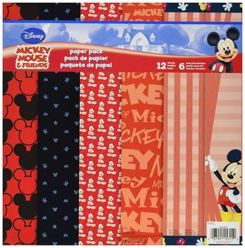 Mickey Scrapbooking Paper Kit