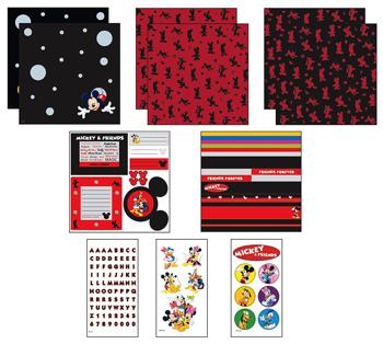 Mickey Scrapbooking Kit Details