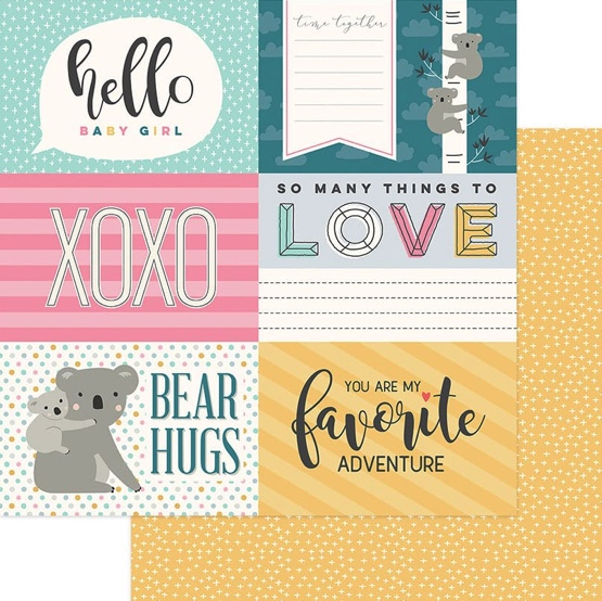 Snuggle Up 12x12 Double Sided Scrapbooking Paper