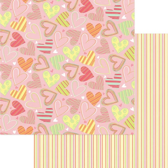 So Sweet 12x12 Double Sided Scrapbooking Paper