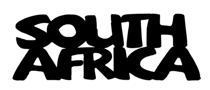 South Africa Scrapbooking Laser Cut Title
