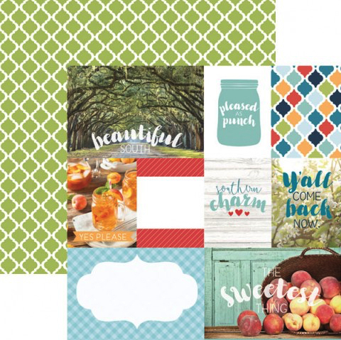 Southern Charm 12x12 Double Sided Scrapbooking Paper