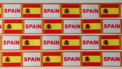 Spain Scrapbooking Ribbon