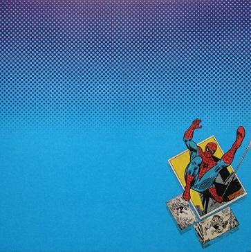 Spiderman Comics 12x12 Scrapbooking Paper