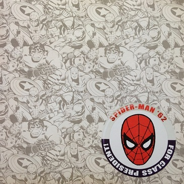 Spiderman 62 12x12 Scrapbooking Paper