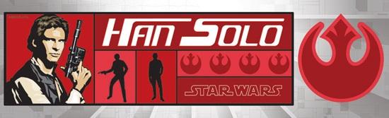 Han Solo Cardstock Scrapbooking Stickers