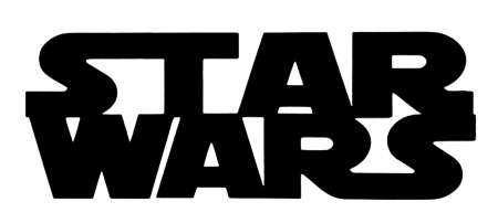 Star Wars Scrapbooking Laser Cut Title