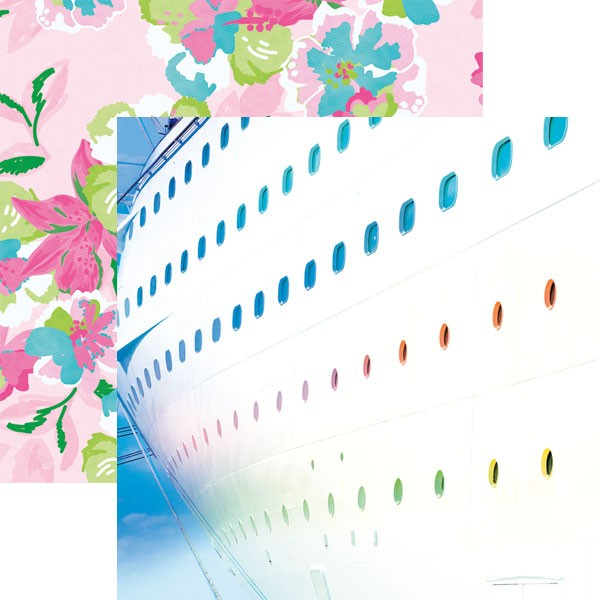 Starboard 12x12 Double Sided Scrapbooking Paper