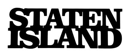 Staten Island Scrapbooking Laser Cut Title