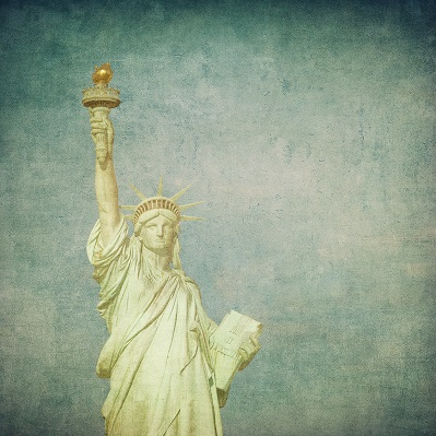Statue of Liberty 12x12 Scrapbooking Paper