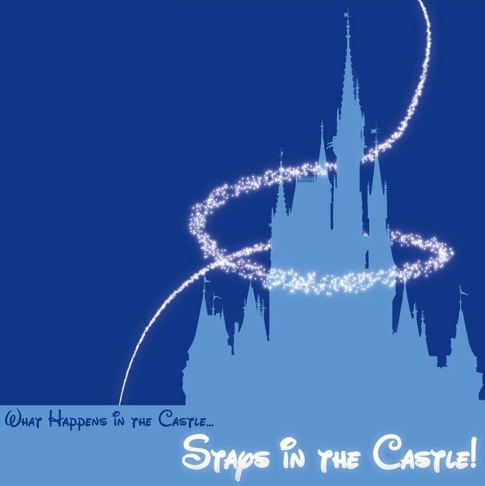 Stays in the Castle 12x12 Scrapbooking Paper