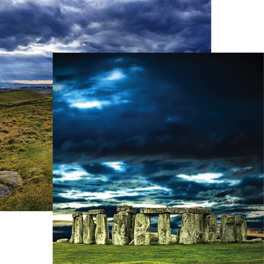 Stonehenge Double Sided 12x12 Scrapbooking Paper