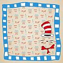 Story Time Cat in the Hat 12x12 Scrapbooking Paper