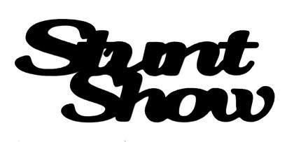 Stunt Show Scrapbooking Laser Cut Title