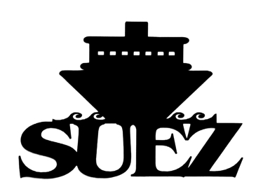 Suez Scrapbooking Laser Cut Title with Ship