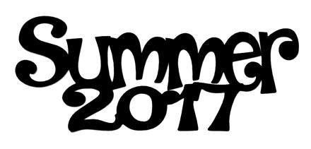 Summer 2017 Scrapbooking Laser Cut Title