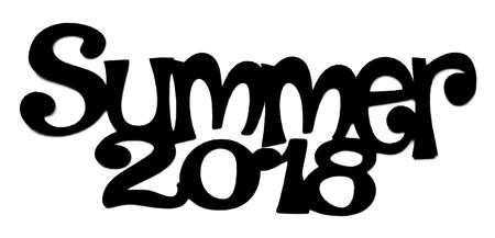 Summer 2018 Scrapbooking Laser Cut Title