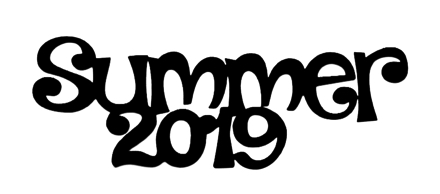 Summer 2019 Scrapbooking Laser Cut Title