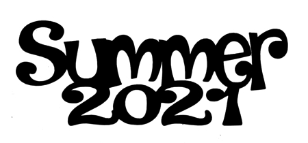Summer 2021 Scrapbooking Laser Cut Title