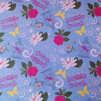 Disney Fairies Sunny Days 12x12 Scrapbooking Paper