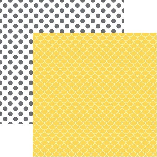 Sunshine 12x12 Double Sided Scrapbooking Paper