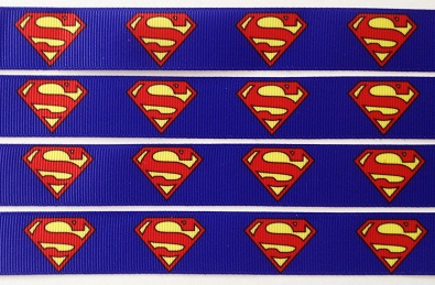 Superman Self Adhesive Scrapbooking Ribbon