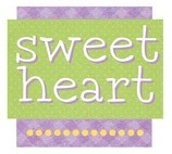 Sweet Heart Die Cut Scrapbooking Sticker