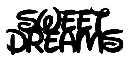 Sweet Dreams Scrapbooking Laser Cut Title