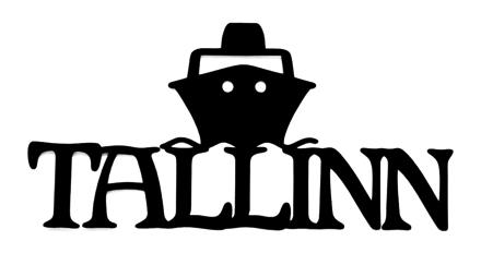 Tallinn Scrapbooking Laser Cut Title with Ship