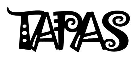 Tapas Scrapbooking Laser Cut Title