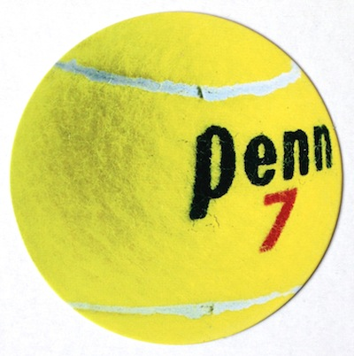 Tennis Ball Scrapbooking Die Cut