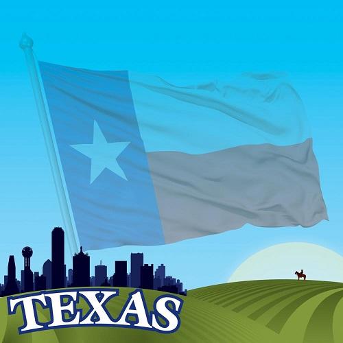 Texas 12x12 Scrapbooking Cardstock