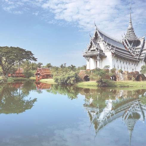 Thailand 12x12 Scrapbooking Paper