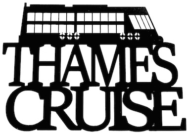 Thames Cruise Scrapbooking Laser Cut Title with Boat