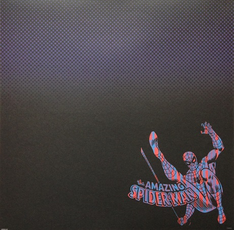 The Amazing Spiderman Multicolour 12x12 Scrapbooking Paper