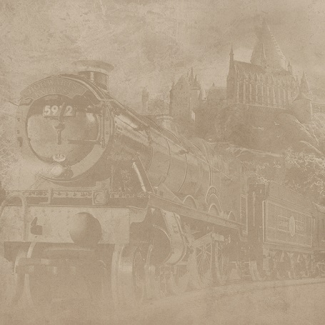 Harry Potter Hogwarts Express 12x12 Scrapbooking Paper