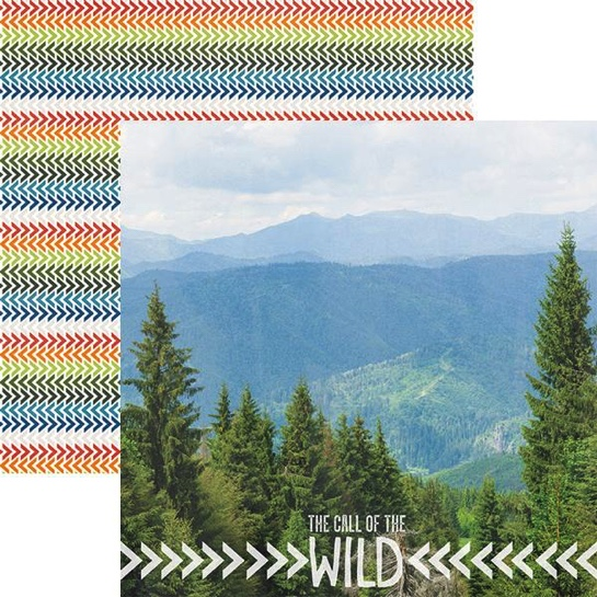 The Call of the Wild 12x12 Double Sided Scrapbooking Paper