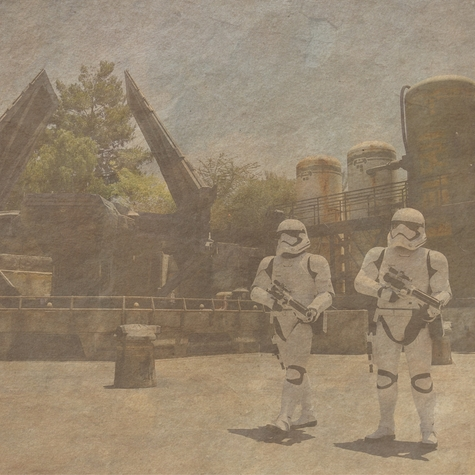 The First Order Star Wars 12x12 Scrapbooking Paper