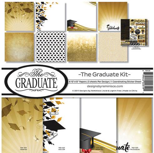 Graduation Scrapbooking Kit