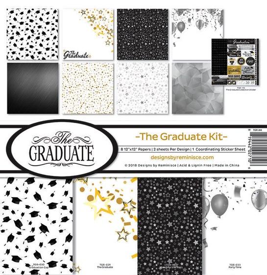 The Graduate Scrapbooking Kit