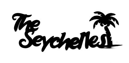 The Seychelles Scrapbooking Laser Cut Title with Palm