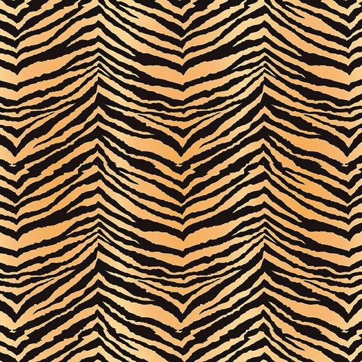 Tiger Stripe 12x12 Scrapbooking Paper