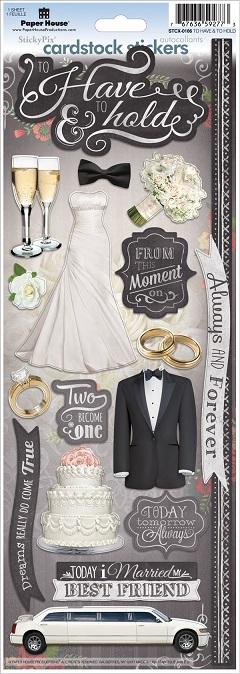 Wedding Scrapbooking Stickers