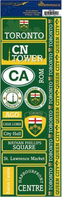 Toronto Cardstock Scrapbooking Stickers and Borders