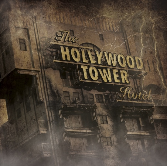 Tower Of Terror 12x12 Scrapbooking Paper