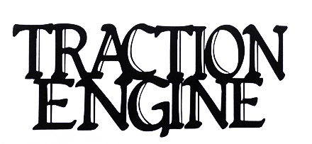 Traction Engine Scrapbooking Laser Cut Title