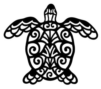Turtle Intricate Scrapbooking Laser Cut